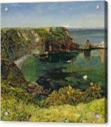 Anstey's Cove In Devon Acrylic Print