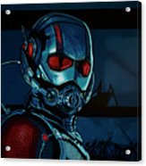 Ant Man Painting Acrylic Print