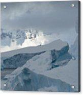 Antarctica Ice Acrylic Print