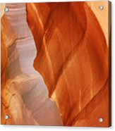 Antelope Canyon - Arizona's Sandstone Cathedral Acrylic Print by Christine Till