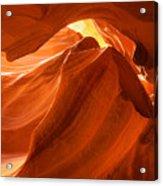 Antelope Canyon - The Wave Acrylic Print