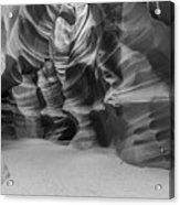 Antelope Canyon Abstract Acrylic Print
