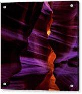 Antelope Canyon Glow Acrylic Print