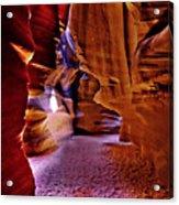 Antelope Canyon Thirteen Acrylic Print