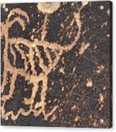 Antelope Petroglyph Acrylic Print