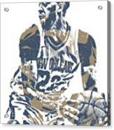 Anthony Davis New Orleans Pelicans Pixel Art 21 Acrylic Print