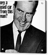 Anti-nixon Poster, 1960 - To License For Professional Use Visit Granger.com Acrylic Print