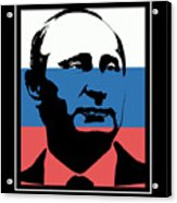 Anti Trump Art Impeach President Resist Putin Dark Acrylic Print