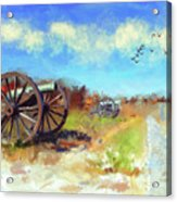 Antietam Under Blue Skies  Acrylic Print
