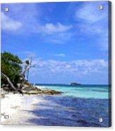 Antigua Beach Acrylic Print