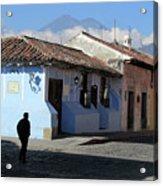 Antigua Guatemala Streetscene Acrylic Print