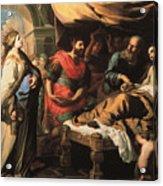 Antiochus And Stratonike Acrylic Print