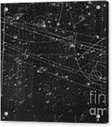 Antiproton Annihilation, Bubble Chamber Acrylic Print