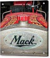 Antique 1930 Mack Bc-cd Fire Truck Acrylic Print