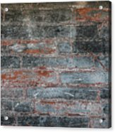 Antique Brick Wall Acrylic Print