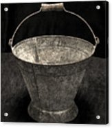 Antique Bucket For Your Modern List Acrylic Print