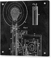 Antique Camera Flash Patent Acrylic Print