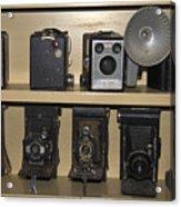 Antique Cameras Acrylic Print