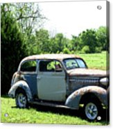 Antique Car 1 Acrylic Print by Douglas Barnett