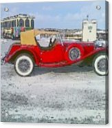 Antique Car Acrylic Print