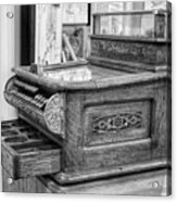 Antique Cash Register Acrylic Print
