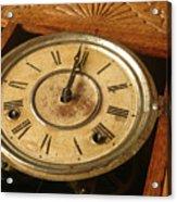 Antique Clock 2 Acrylic Print