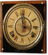 Antique Clock 3 Acrylic Print