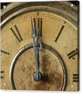 Antique Clock 6 Acrylic Print