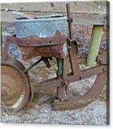 Antique Corn Planter Acrylic Print