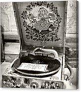 Antique Decca Gramophone By Kaye Menner Acrylic Print
