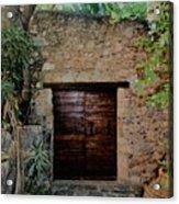 Antique Door Acrylic Print