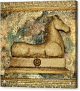 Antique Equine Acrylic Print