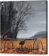 Antique Farm Equipment Acrylic Print