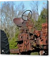 Antique Farmall Tractor 4a Acrylic Print