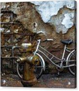Antique Fire Hydrant 2 Acrylic Print