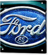 Antique Ford Badge Acrylic Print