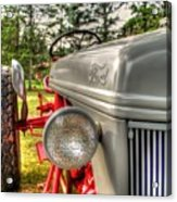 Antique Ford Tractor Acrylic Print