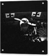 Antique German Warplane Acrylic Print