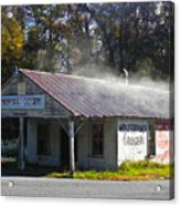 Antique Grocery Store Acrylic Print