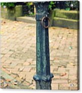 Antique Hitching Post Acrylic Print