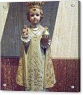 Precious Little King Acrylic Print
