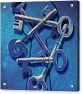 Antique Keys Acrylic Print