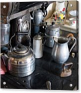 Antique Kitchen Stove Acrylic Print