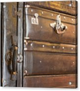 Antique Luggage Acrylic Print by Shannon Fagan