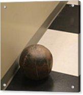 Antique Medicine Ball Acrylic Print