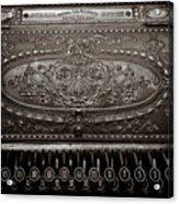 Antique Ncr - Sepia Acrylic Print