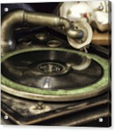 Antique Record Player 01 Acrylic Print