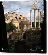 Antique Rome Acrylic Print