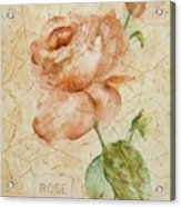 Antique Rose Acrylic Print