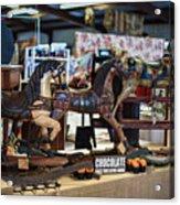 Antique Show Three Horses Acrylic Print